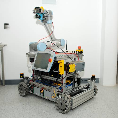 Robot for Shelf scanning